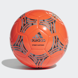 Bola Tango Street Capitano Semi Solar Red / Carbon / Black / Grey Three DY2571