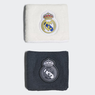 Real Madrid Home & Away Wristbands Core White / Black / Tech Onix / Bold Onix CY5619