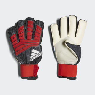 GOALKEEPER GLOVES (FINGERSAVE) Predator PRO FS BLACK/RED/WHITE CW5583