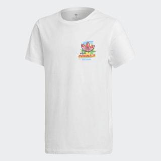 Camiseta Graphic white/MULTICOLOR ED7838