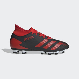 Predator 20.4 IIC Flexible Ground Boots Core Black / Active Red / Cloud White FW5258