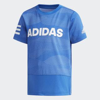 Polera LB SS CL TEE4 blue / white DW4090
