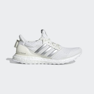 adidas x Game of Thrones House Targaryen Ultraboost Shoes Off White / Silver Metallic / Core Black EE3711