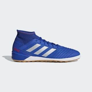 Zapatos de Fútbol Predator Tango 19.3 Bajo Techo Bold Blue / Silver Met. / Active Red BB9080