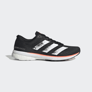 Adizero Adios 5 Shoes Core Black / Cloud White / Signal Coral EE4301