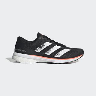 Adizero Adios 5 Shoes Core Black / Cloud White / Signal Coral EE4301