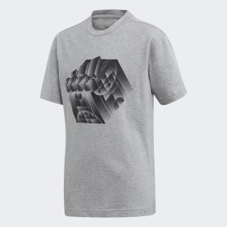 Sport ID Stadium Tee Medium Grey Heather ED7241