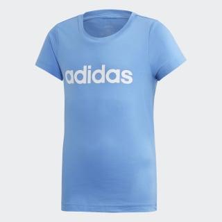 Koszulka Essentials Linear Real Blue / White EH6174