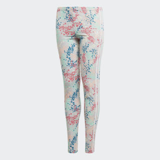 Calça Legging Multicolor / White EJ6332