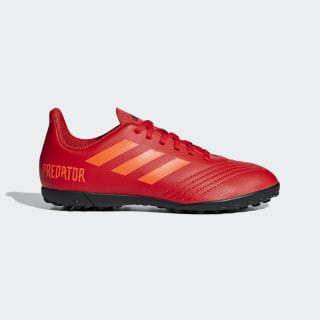 Zapatos de Fútbol PREDATOR 19.4 TF J active red/solar red/core black CM8557
