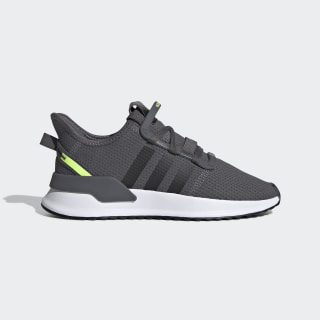 U_Path Run Shoes Grey / Core Black / Hi-Res Yellow EE7434