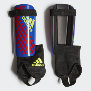X Youth Shin Guards Bold Blue / Active Red / Solar Yellow DN8620