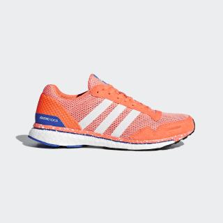 adizero Adios 3 Shoes Chalk Coral / Ftwr White / Orange BB6408