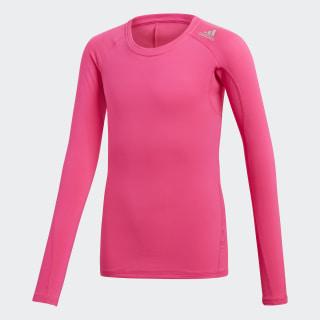Alphaskin Sport T-shirt Shock Pink DJ1104