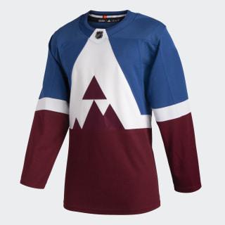 Avalanche Stadium Series Authentic Pro Jersey Nhl-Cav-530-1 / Capital Blue / Burgundy GF1295