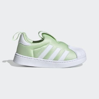 Superstar 360 Shoes Glow Green / Cloud White / Cloud White EE6280