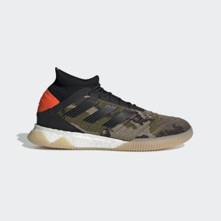 Predator 19.1 Trainers Trace Khaki / Core Black / Solar Orange F35618