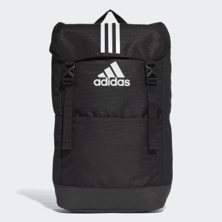 3-Stripes Backpack Black / Black / White CF3290