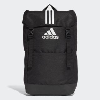 กระเป๋าสะพายหลัง 3-Stripes Black / Black / White CF3290
