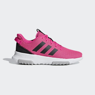 Cloudfoam Racer TR Shoes Shock Pink / Core Black / Cloud White F35412