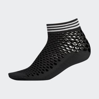 Fishnet Quarter Socks Black CK6738