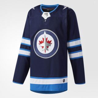 Jets Home Authentic Pro Jersey Navy CA7122
