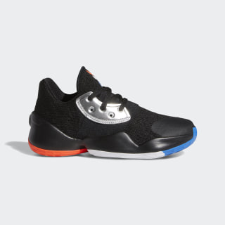 Harden Vol. 4 Shoes Core Black / Silver Metallic / Bright Blue EF2054