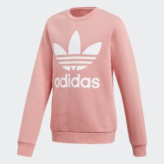 Fleece Crew Sweatshirt Tactile Rose / White DT8095