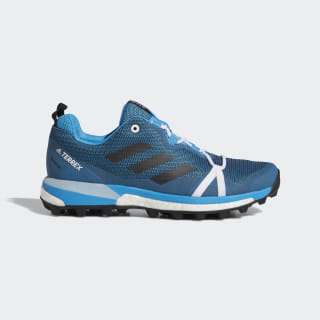 Terrex Skychaser LT GTX Shoes Shock Cyan / Core Black / Ash Grey F36121