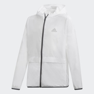 Chaqueta Rompevientos Athletics ID Light White / Grey Six DV1677