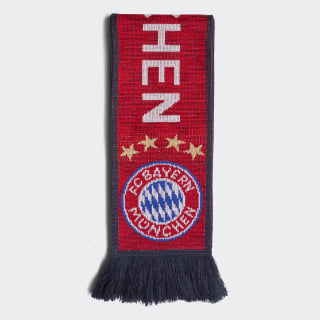 Écharpe FC Bayern Fcb True Red / Collegiate Navy / White DI0236