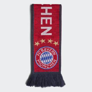 FC Bayern Scarf Fcb True Red / Collegiate Navy / White DI0236