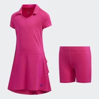Ruffled Dress Shock Pink FI8669