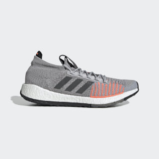 Кроссовки для бега Pulseboost HD Grey Two / Grey Six / Signal Coral FV0463