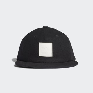 Wool Grandad Cap Black ED8051