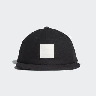 Wool Grandad Cap Black ED8051