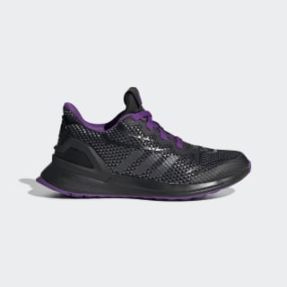 Marvel Black Panther RapidaRun Shoes Core Black / Night Metallic / Active Purple G27553