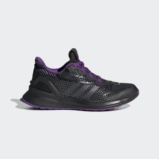 Tenis Marvel Pantera Negra RapidaRun Core Black / Night Metallic / Active Purple G27553