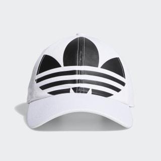 Relaxed Big Trefoil Hat White CM3919