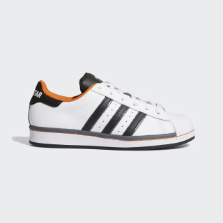 Zapatilla Superstar Cloud White / Core Black / Orange FV3685