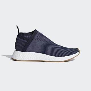 Chaussure NMD_CS2 Primeknit Trace Blue / Lgh Solid Grey / Gum4 D96741