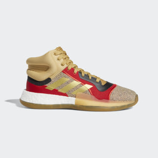 Marquee Boost Shoes Raw Sand / Gold Metallic / Scarlet G27742