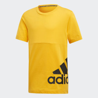 Must Haves Badge of Sport Tee Active Gold / Black ED6462