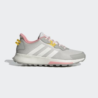Quesa Trail X Shoes Orbit Grey / Running White / Glory Pink EG4210