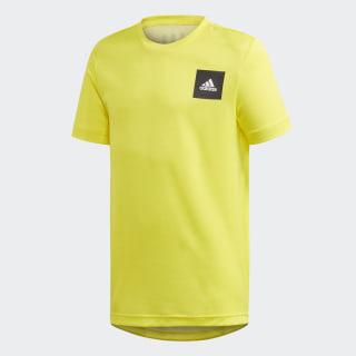 Polera AEROREADY Shock Yellow / White FM1683