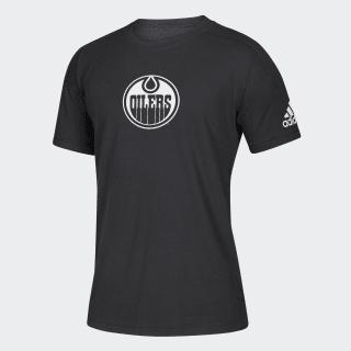 Oilers Stadium ID Tee Nhl-Eoi-504 / Black / White EK3067