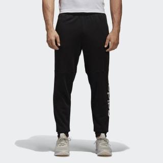 Pantalón Essentials Linear Logo BLACK/WHITE BQ9090