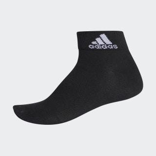 Performance Ankle Thin Socks 1 Pair Black / Black / White AA2324