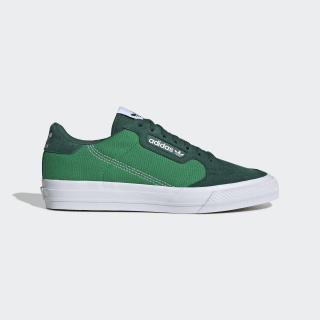 Continental Vulc Shoes Collegiate Green / Cloud White / Green EF3539