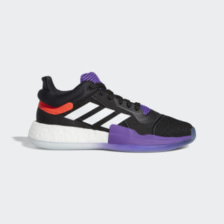 Marquee Boost Low Shoes Core Black / Solar Red / Active Purple EE8571